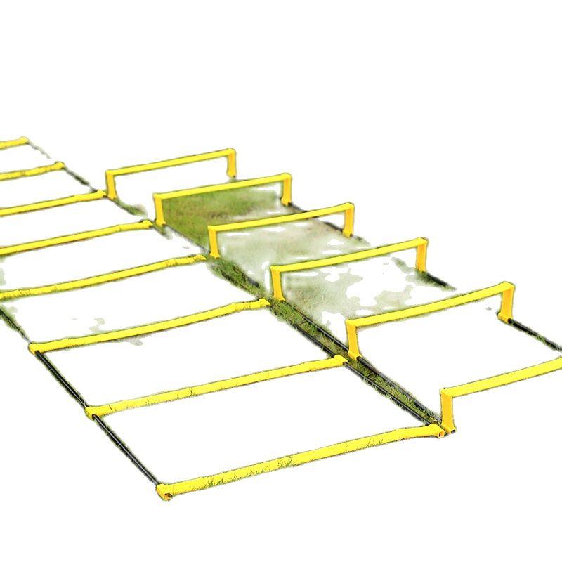 Оптовая продажа с фабрики, высокое качество, дешево, 2020 новый тип футбольной лестница для тренировки ловкости, регулируемая футбольная стре...