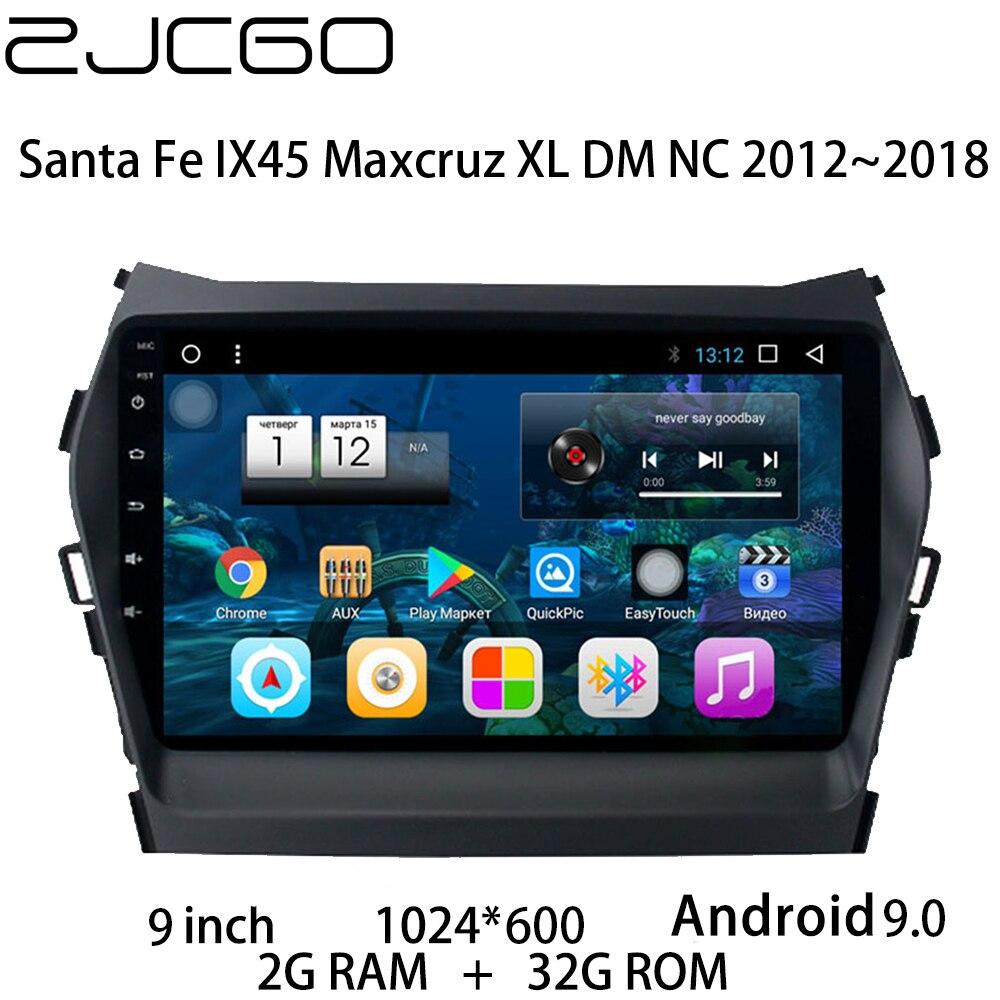 Coche reproductor Multimedia estéreo DVD GPS Radio de navegación Android pantalla para Hyundai Santa Fe IX45 Maxcruz XL DM NC 2012 ~ 2018