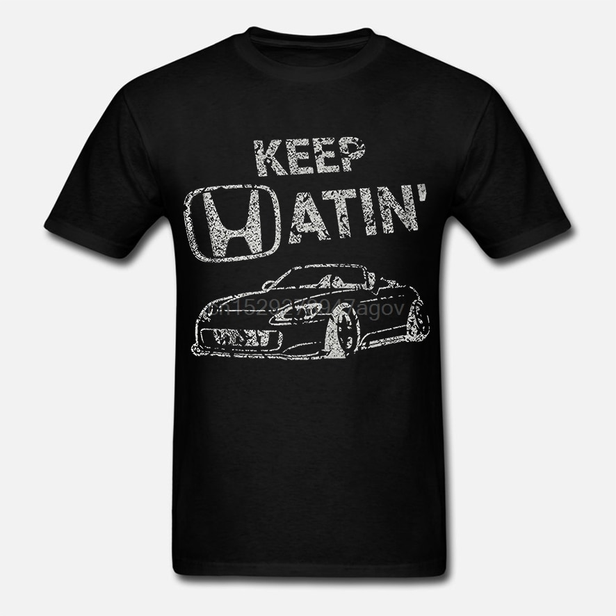 2019 venda quente moda manter hatin s2000 carro abaixado rápido jdm racks camiseta camisa