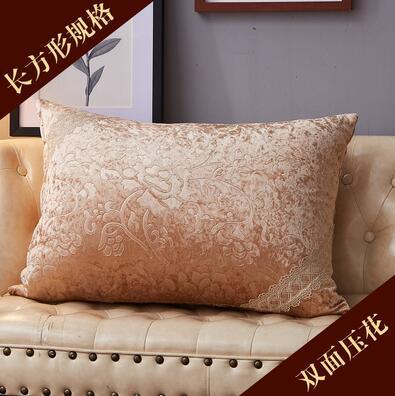 Funda de cojín Europea Rectangular 50x70 sala de estar sofá abrazo funda de almohada para el hogar grande 60 80 lavar y lavar