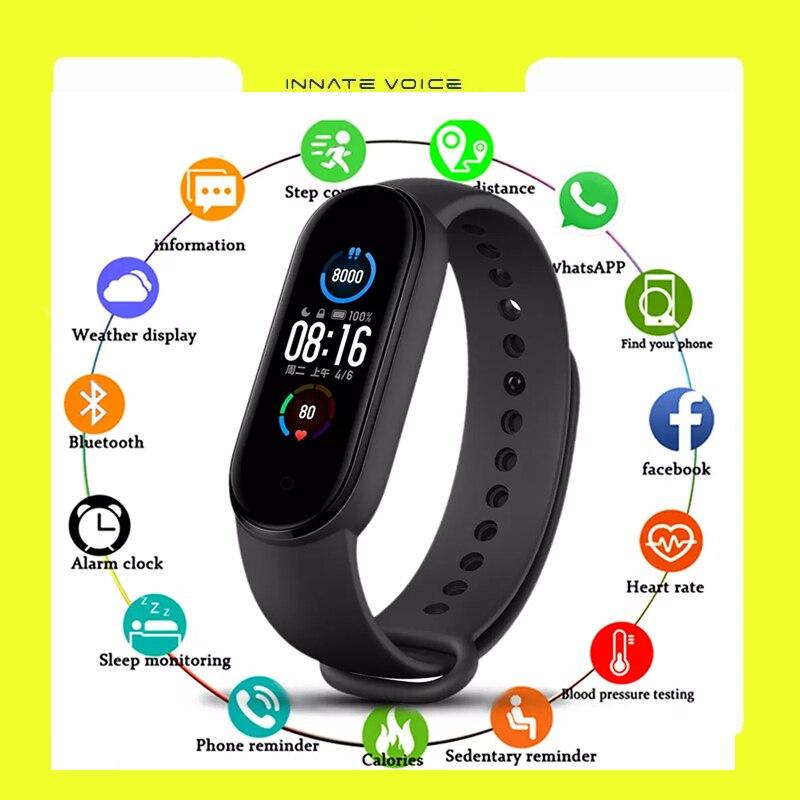 ZK40 M5 Smart Bracelet Fitness Sport Wristband Tracker Toy Waterproof Wristband Heart Rate Blood Pre