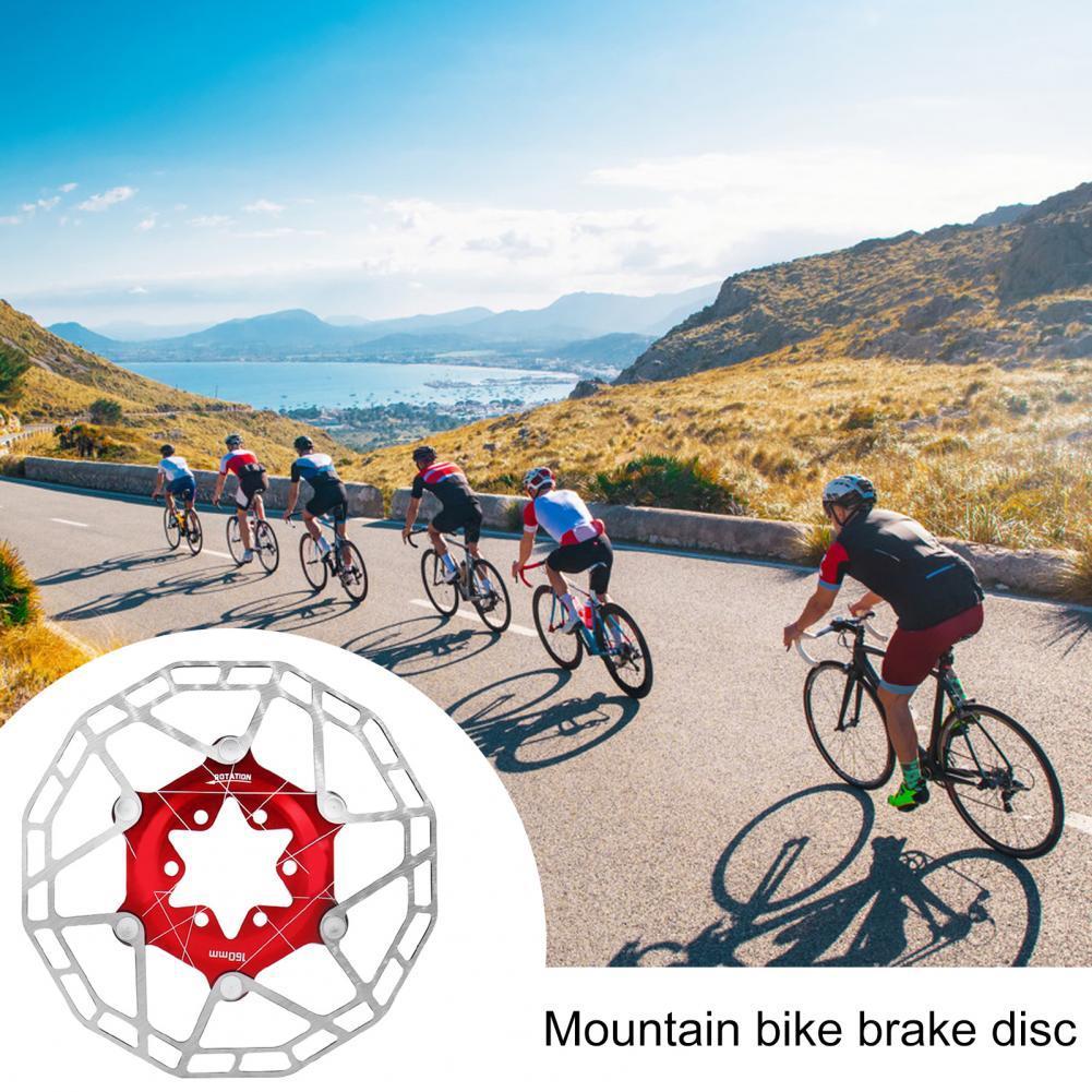 Disco de freno ultraligero resistente al desgaste, rotores flotantes para bicicleta de...