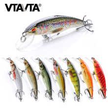 VTAVTA 2g/6g/12g Mini Minnow Wobblers Floating Fishing Lures Minnow Crankbait Artificial Hard Swimbait Fish Lure Pike Wobblers