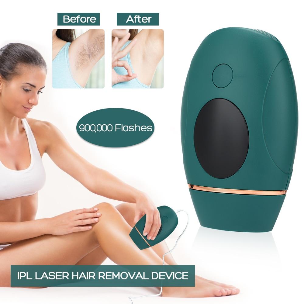 IPL Hair Removal Laser Epilator 900000 Flash Shaving And Hair Removal Permanent Epilator For Women Men's Shaver Trimmer enlarge