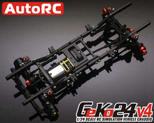 1/24 GK24 4th Generatie Simulatie Klimrek Rc Crawler Chassis GK24 V4