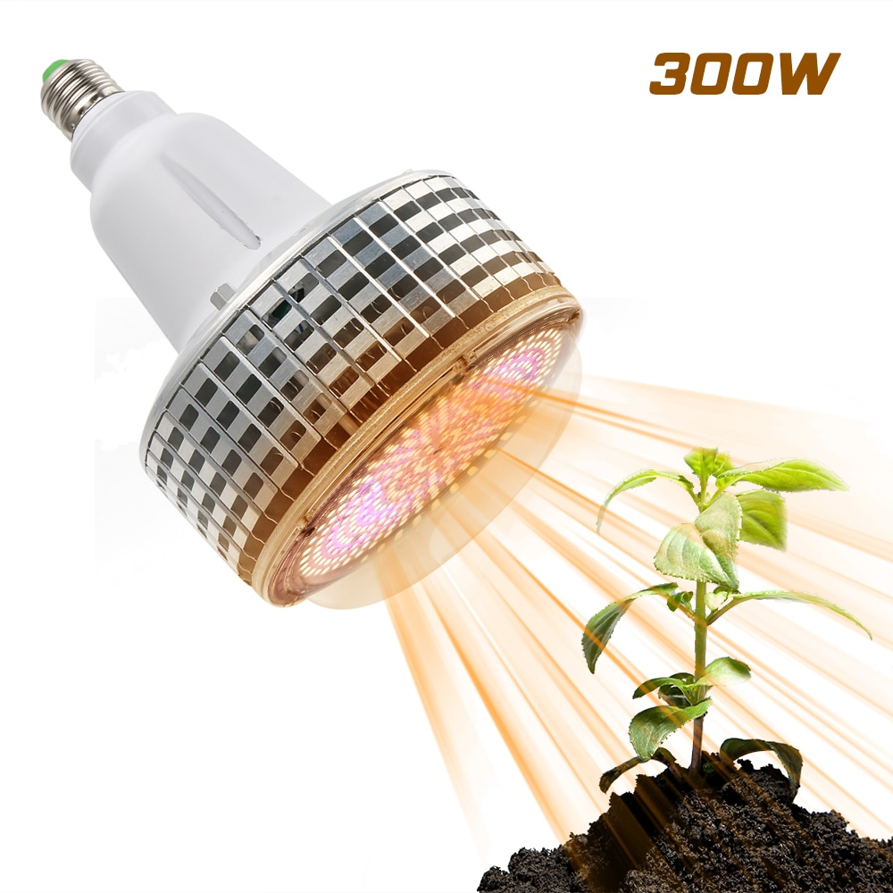 (2pcs/Lot) 300W E27 Full Spectrum Led Grow Lights Phytolamp For Indoor Plants Hydroponics Cultivation Flowers Grow Tent Lighting enlarge