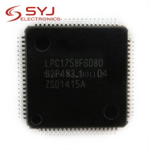 1pcs/lot LPC1758FBD80 LPC1758 LQFP-80 In Stock