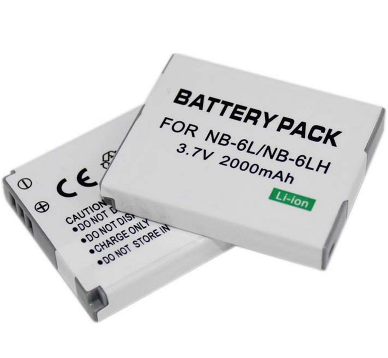 Bateria para canon powershot d10, d20, s90, s95, elph 500 hs, sx170is, sx240hs, sx260hs, sx270hs, sx280hs, sx500is câmera digital