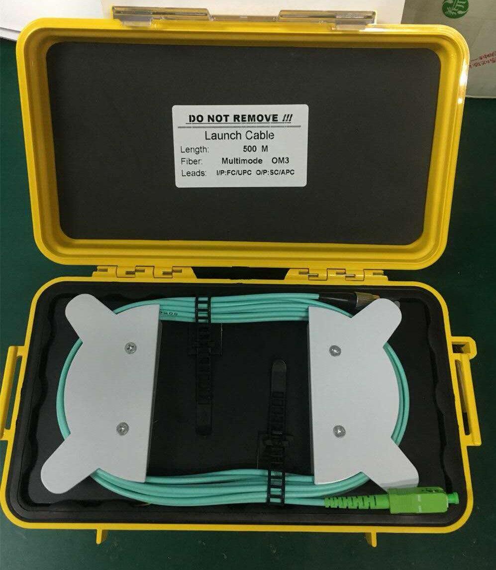 Multimodo OM3 500M OTDR zona muerta eliminador de fibra de anillos de...