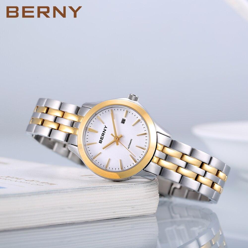 Women's Mechanical Watch Automatic Ladies Watch Montre Femme Stainless Steel Dress Wristwatch Waterproof  Female Clock Bracelet enlarge