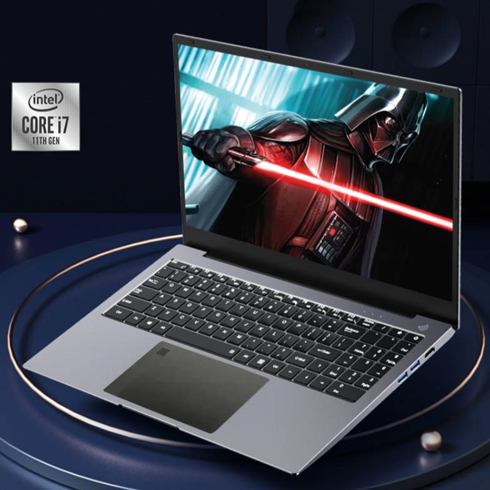 I7-1165G7 Fingerprint Gaming Laptop 15.6 Inch IPS Screen Intel Core 1165G7 Ultraslim 11th Gen Notebook Windows 10 MAX Rom 2TB