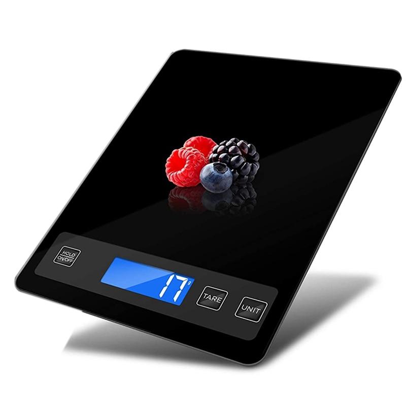 موازين المطبخ ، موازين المطبخ الرقمية 15 كجم ، شحن USB ، موازين الخبز ، سطح الوزن اضافية كبيرة