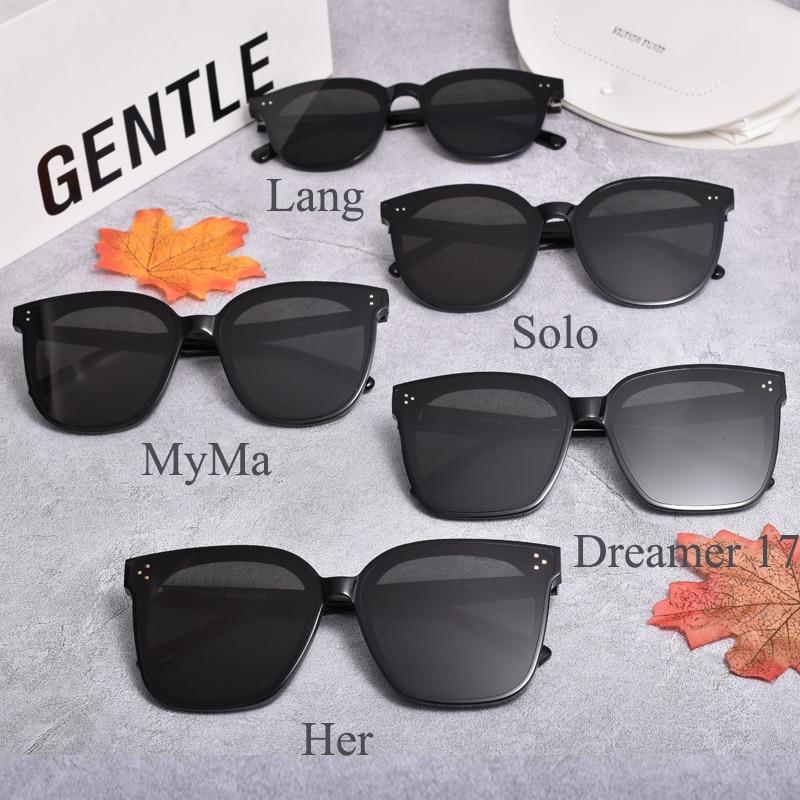 2020 Korea  news 5 Style  GENTLE sunglasses Women Men Her Dreamer 17 solo lang myma Acetate Polarize