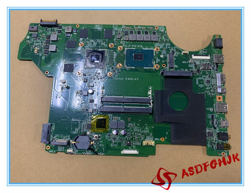الأصلي MS-16J51 MS-17951 ل MSI GE62 GP62 GE72 GP72 MS-16J5 MS-1795 اللوحة المحمول مع I7-6700HQ و GTX950M الرسومات