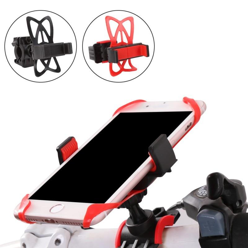 Evrensel Cep telefon tutucu Silikon Destek Ile Bisiklet Bisiklet motosiklet gidonu Montaj Tutucu