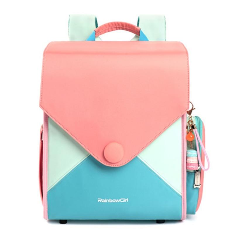 Fashion Backpack Girls School Bags Children Backpacks Kids Back Pack Girl Textbook Bag Primary Sac A Dos Enfant Mochila Escolar