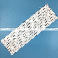"""5SET=40PCS LED Strip For Leroy 46""""TV LED46C360 RF-AI460B32-0701S-01 JS-LB-D-JP46D7-071CBAC 30810 E46D7212PC62926B 7lamp 6V 475mm"""