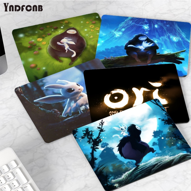 YNDFCNB новый дизайн ори и слепой лес высокоскоростной новый коврик для мыши для CS GO Гладкий коврик для письма настольные компьютеры Mate игровой...