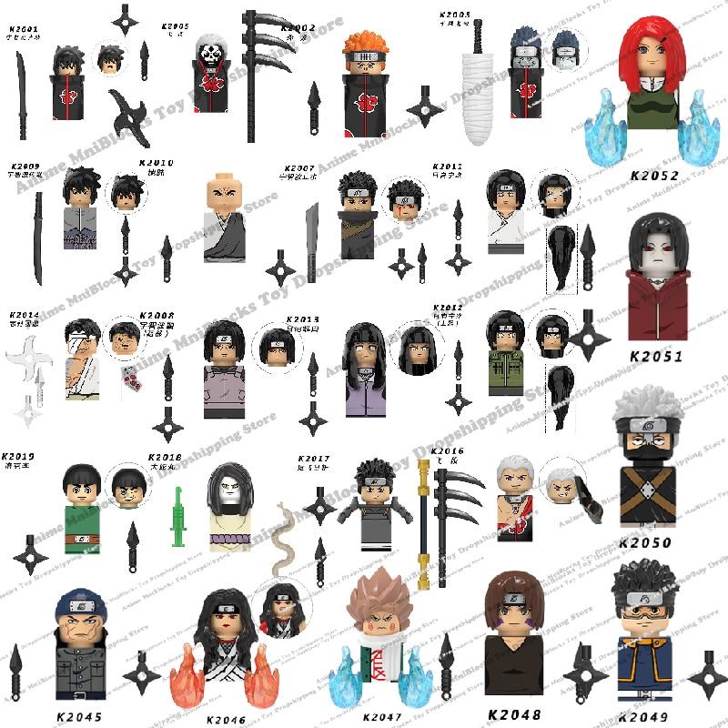 KDL801 802 803 804 806 807 Конструктор из аниме Наруто, конструктор Саске Сакура, мини-конструктор, фигурки героев, сборные игрушки, подарок на день рож...