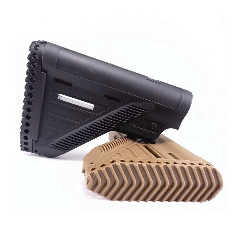 Mil-Spec Airsoft M4 M16 AR 15 Stock Buttstock For HK416a5 Air Soft AEG Paintball Gel Blaster Pistol Brace BB Gun Accessories