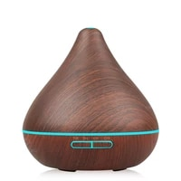 Humidificateur dair diffuseur dhuile essentielle arome lampe aromatherapie electrique arome diffuseur brumisateur pour la maison-bois 300ml