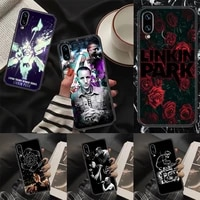linkin rock phone case for huawei p mate p10 p20 p30 p40 10 20 smart z pro lite 2019 black silicone coque tpu back art shell