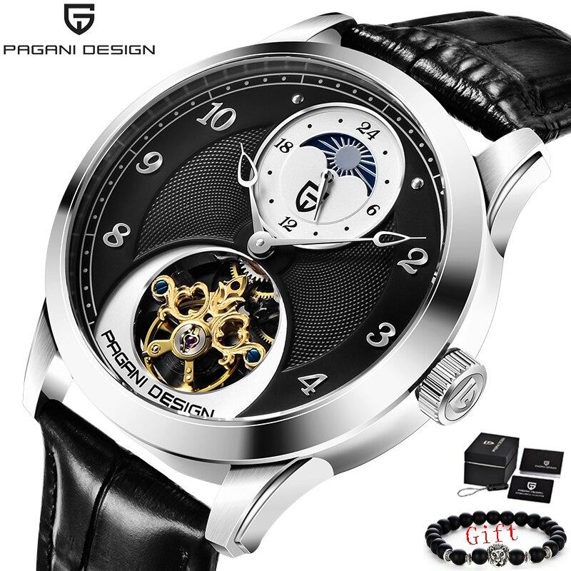 Reloj mecánico automático PAGANI, reloj deportivo resistente al agua estilo Tourbillon, reloj de marca de lujo para hombre 2020