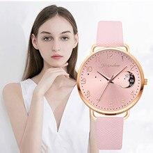 Sleek Minimalist Fashion With Strap Dial Women's Quartz Watch Minimalist Classic Quartz Watch Studen