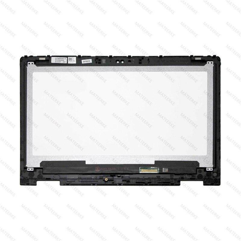 NT133WHM-A10 B133HAB01.0 NV133FHM-N41 NV133FHM-A11 LCD تعمل باللمس محول الأرقام لوحة لديل انسبايرون 13 5368 5378 6NKDX 06NKDX