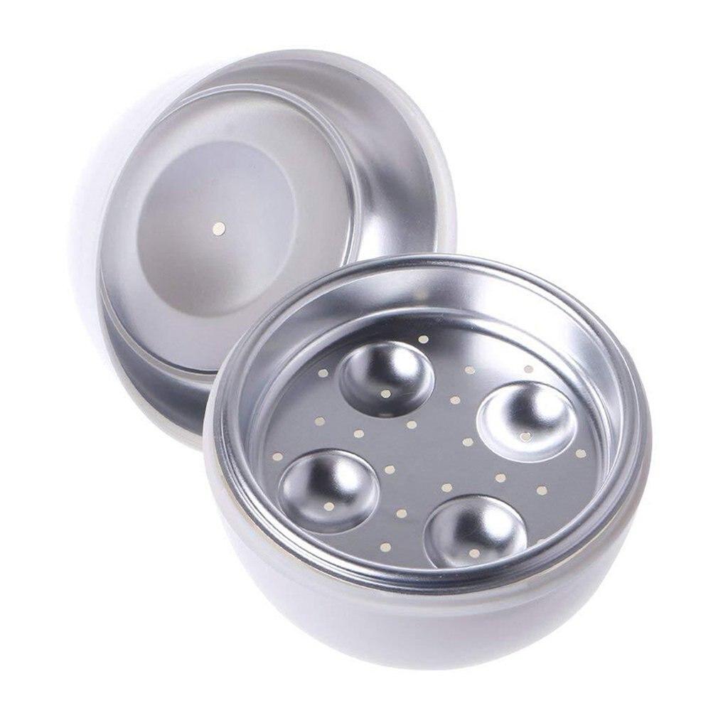 فرن الميكروويف باخرة البيض غلاي بيض الميكروويف المنزلية الخاصة 4 بيضة مسلوقة شكل بيضة على شكل بيضة على البخار B