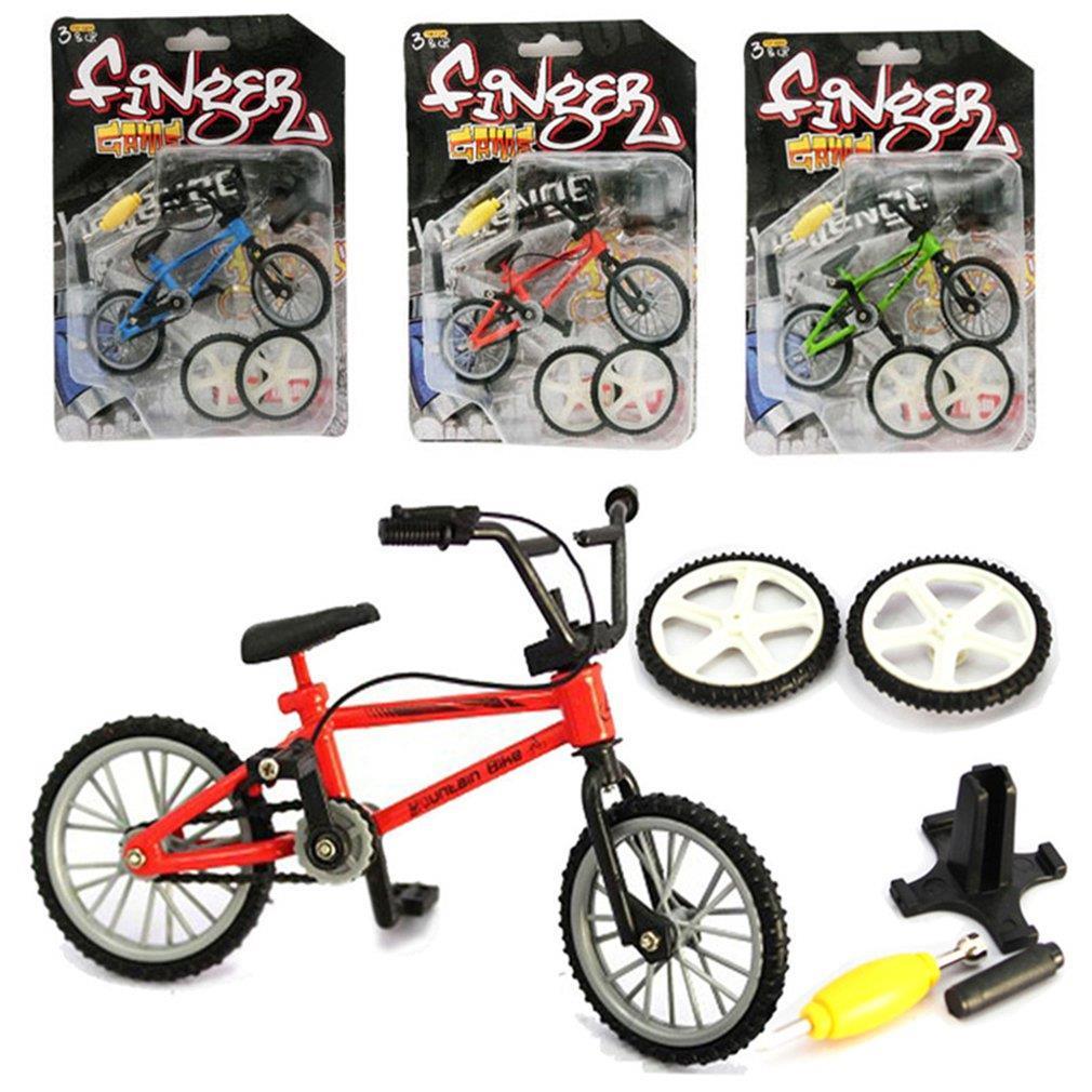 Мини-велосипед игрушечный сплав BMX Пальчиковый велосипед модель детской игрушки подарок украшение забавная Новинка Велосипед подарок