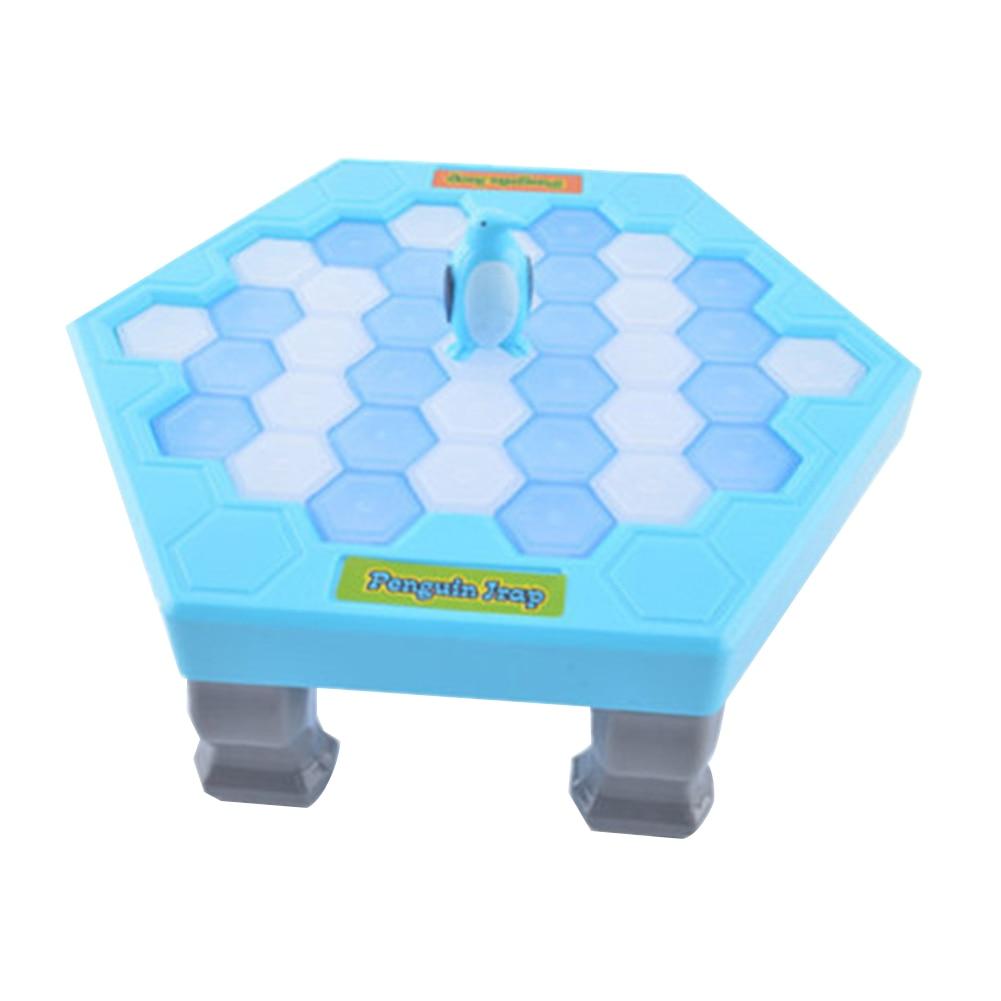 Mini Kids Save Penguin Ice Block Breaker Trap Toys Funny Parent Children Kids Table Game Kids  Toy Stress Reliever Decor