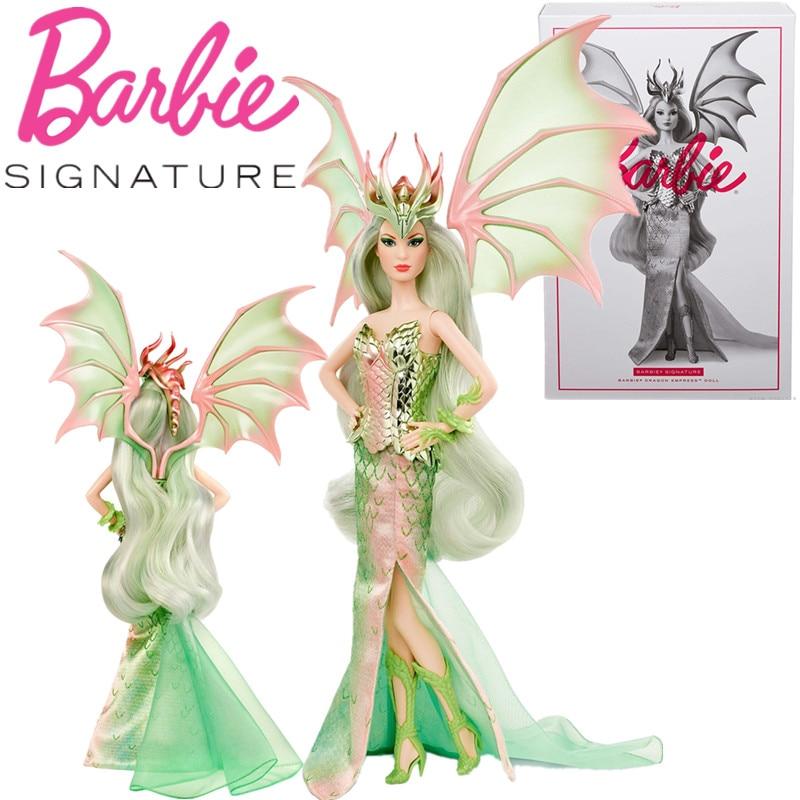 Colección de muñecos de la emperatriz del Dragón Barbie, juego de coleccionistas...