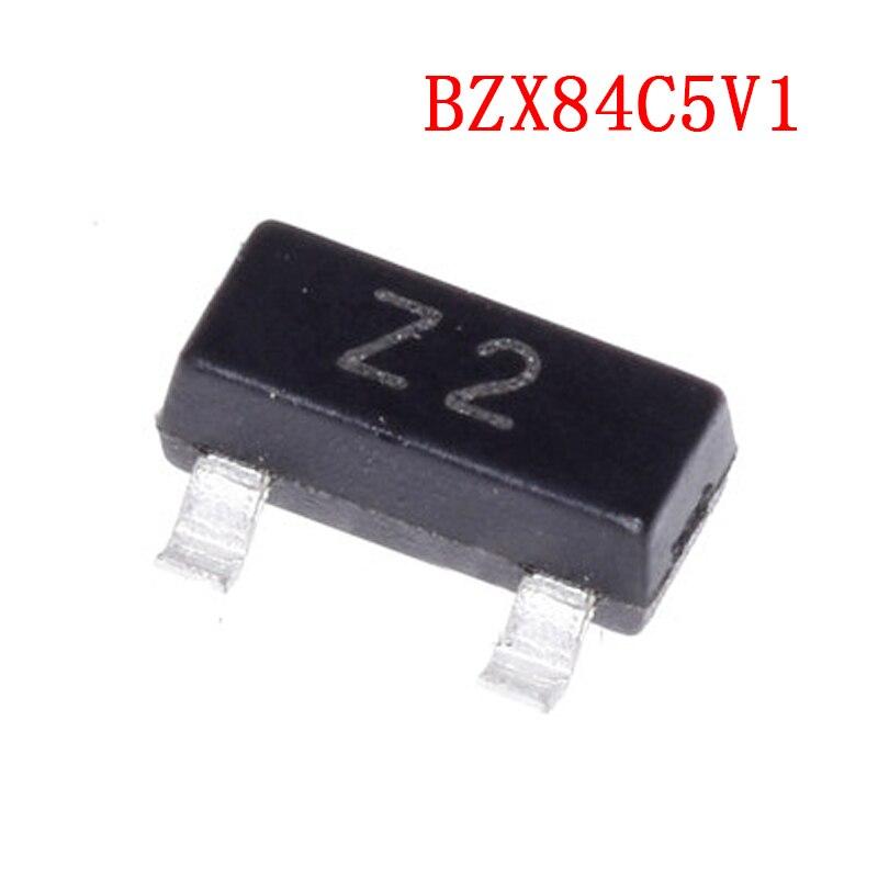 Circuito integrado BZX84C5V1LT1G BZX84C5V1 5.1V Z2 SOT23