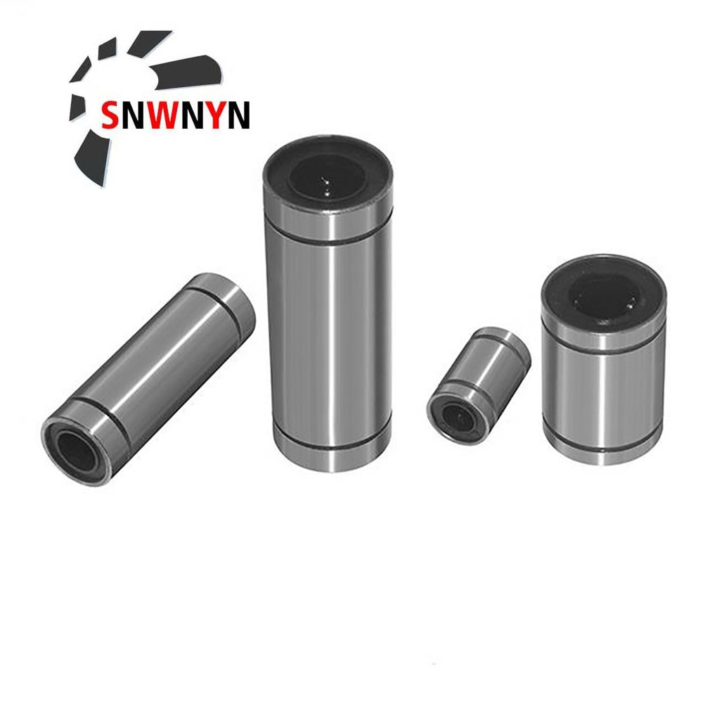 LM8UU LM10UU LM16UU LM6UU LM12UU LM3UU Linear Bushing 8mm CNC Linear Bearings For Rods Liner Rail Linear Shaft 3D Printers Parts new 8mm bearing bushing sc8v sc8vuu scv8uu linear bearing block for 8mm linear shaft