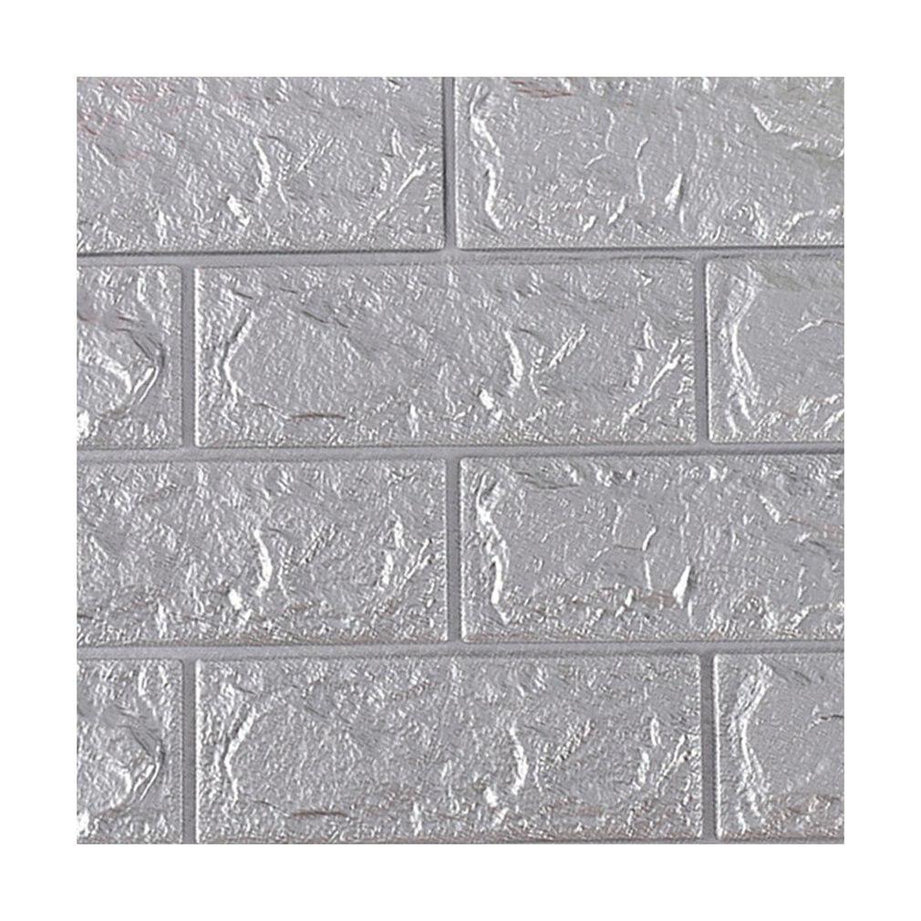 70x77cm 3D etiquetas para paredes de ladrillo impermeables, papel tapiz adhesivo DIY, pegatinas de arte para la pared, sala de estar, Tv, pared de fondo