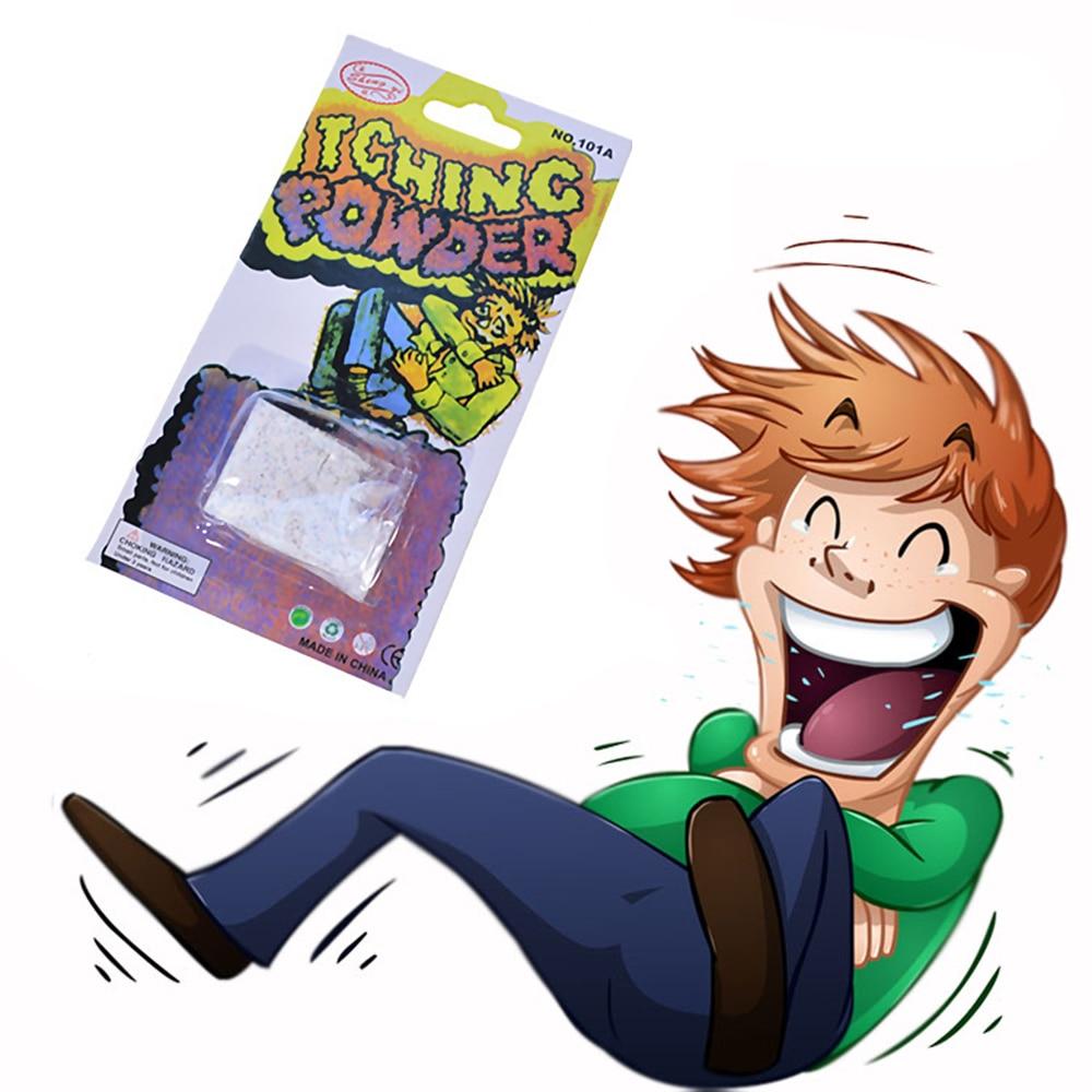 Pó de comichão brincadeira paródia brinquedo adereços magic 8 adultos gramas novidade do Dia Das Bruxas para aumentar os sentimentos de cada um