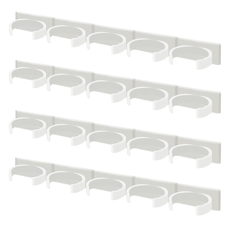 Spice rack montare pe perete organizator de bucătărie condiment - Organizarea și depozitarea în casă - Fotografie 5