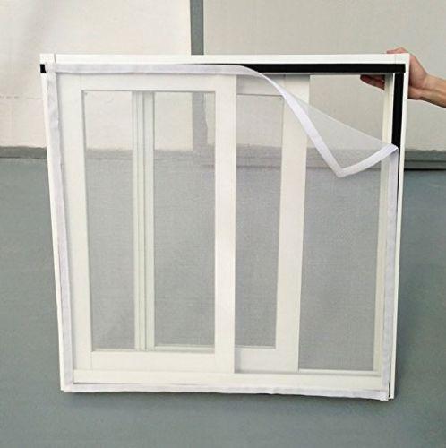 Verão inseto janela net branco anti mosquito líquido profissional mariposas bug janela cortina do agregado familiar anti inseto net