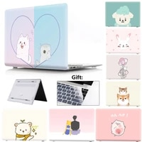 laptop case for huawei matebook d14 case 13 d15 computers accessories x pro 2021 2020 for honor magicbook 14 case 15 cartoon