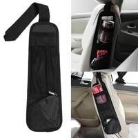 nylon car seat side organizer multi pocket front seat hanging storage bag universal auto interior styling accessories