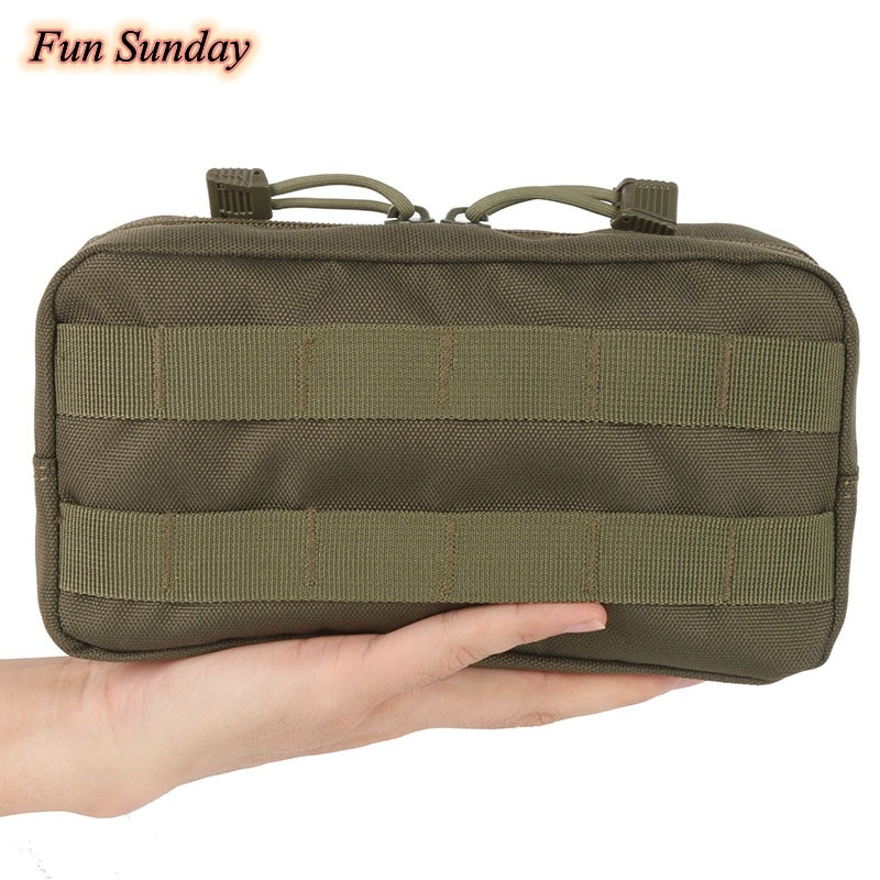 Outdoor 600D Nylon Traveling Gear Molle Pouch Military Bag Tactical Vest Sundries Camera Magazine St