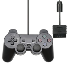 Pour PS2 contrôleur filaire Manette Manette pour Playstation 2 Controle Mando Joystick pour playstation 2 Console accessoire