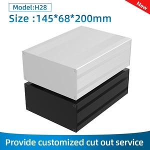 Battery Capacity Tester Cabinet Resistivity Aluminum Profile Enclosure H28 145*68mm