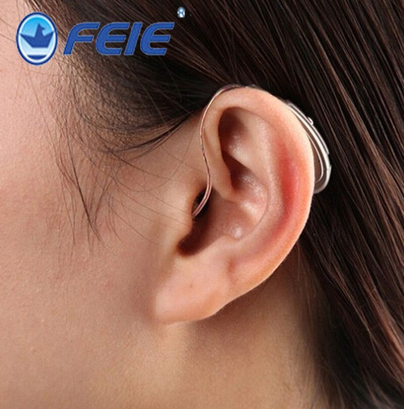 MY-18S ريك الرقمية السمع الصوت مكبرات الصوت اللاسلكية الأذن الإيدز لكبار السن معتدلة إلى شديدة فقدان انخفاض الشحن