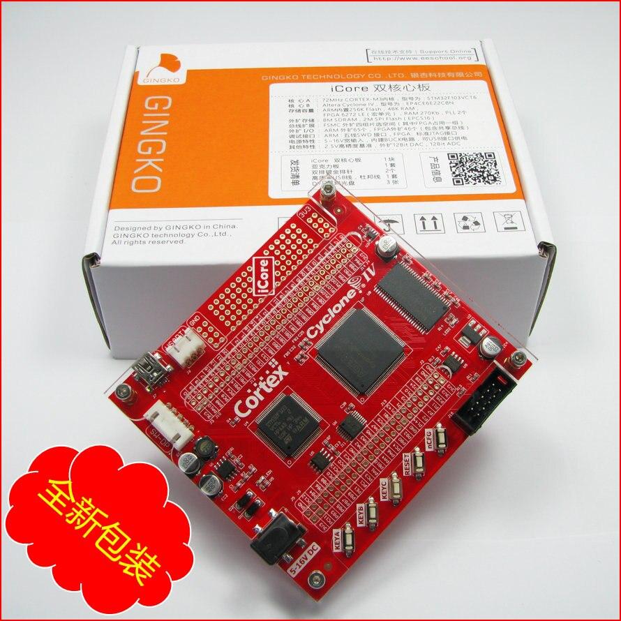 Icore fpga開発ボードSTM32 CYCLONE4 scm