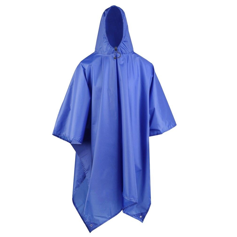 Chubasquero multifuncional 3 en 1 para viajes al aire libre, Poncho para lluvia, mochila impermeable, toldo para tienda, escalada, Camping, senderismo