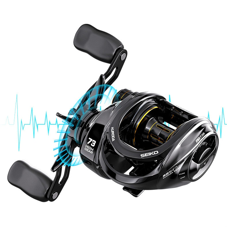 2021Metal Spool Baitcasting Reel 10Kg Max Drag High Speed Ratio Casting Fishing Reel 18+1Bb Reinforced Reel Carp Fishing