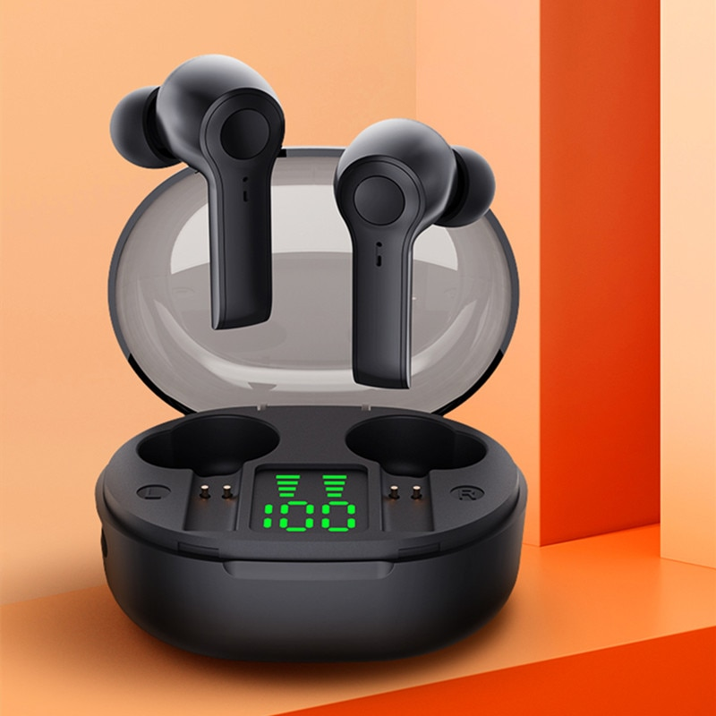 Bluedio D4 Wireless Headphone Portable Earbuds Touch Control Bluetooth-compatible 5.1 In Ear Headset With 640h Charging Case