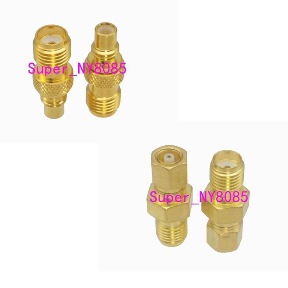 Connecteur dadaptateur Coaxial RF à prise mâle   10 pièces SMA à SMC, prise mâle et prise femelle